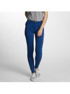 Pieces Облегающие джинсы pcSkin синий