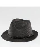 Pieces Шляпа PCLea Straw черный