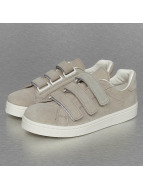 Pieces Baskets pcSiri Suede Velcro gris