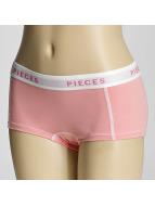 Pieces Bielizna pcLogo pink