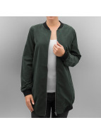 Pieces Bomber PcAlma Long olive