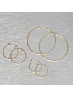 Pieces Boucles d'oreilles pcBelinda or