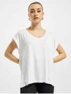 Pieces Camiseta PCBillo Solid blanco