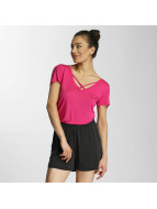 Pieces Camiseta pcKatty fucsia