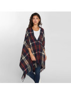 Pieces Cardigan PcRylana Poncho bleu