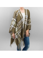 Pieces Cardigans pcFony Poncho oliven