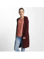 Pieces Cardigans pcJane Long Wool red