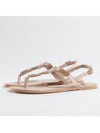 Pieces Claquettes & Sandales Carmen beige