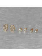 Pieces Earring PCDiana Earstud gold colored