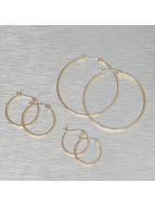 Pieces Earring pcBelinda gold colored
