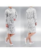 Pieces Elbiseler Crana Long beyaz