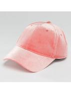 Pieces pcRomina Velvet Snapback Cap Ash Rose