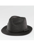 Pieces Hat PCLea Straw black