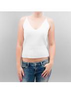 Pieces Hihattomat paidat pcBrooke valkoinen