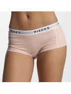 Pieces Intimo pcLogo Lady rosa chiaro