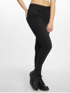 Pieces Jean skinny PCFive Delly noir