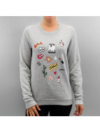 Pieces Jumper pcVega grey