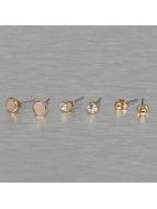 Pieces Küpeler pcMalle New Basic altın