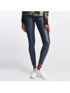 Pieces Legging pcPetra Shiny grijs
