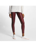 Pieces Legging pcPetra Shiny rouge