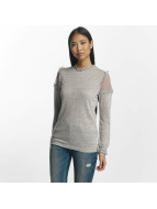Pieces Longsleeve pcPenny grey