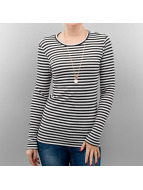 Pieces Longsleeves pcRaya Round Neck bialy