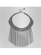 Pieces Necklace Peck silver colored