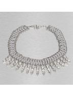 Pieces Necklace Dolores silver colored