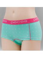 Pieces ondergoed PCLogo turquois