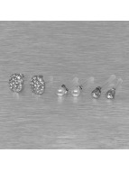 Pieces oorbel PCDiana Earstud zilver