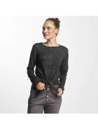 Pieces pcNanna Longsleeve Dark Grey Melange