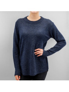 Pieces Pullover PCDanny Mohair Knit blau