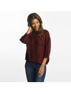 Pieces Pullover pcNanok 3/4 rot
