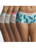 Pieces Ropa interior pcLogo 4-Pack Lady colorido