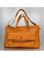 Pieces Sac Totally Royal Leather Travel brun