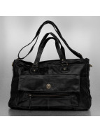 Pieces Sac Totally Royal Leather Travel noir