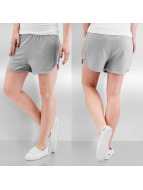 Pieces Shorts pcOmara gris