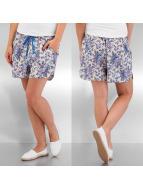Pieces Shorts Tulip Flower weiß