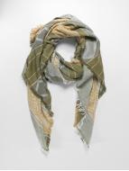 Pieces sjaal pcBelise Square beige