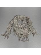 Pieces sjaal pcPimus Square grijs