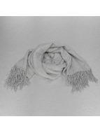 Pieces sjaal PCKial Square grijs