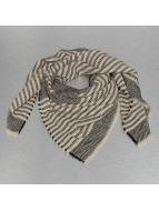 Pieces sjaal pcPipeline Square grijs