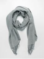 Pieces sjaal Kial Long grijs