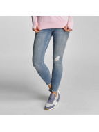 Pieces Skinny jeans PCJust New Delly Cropped blå