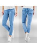 Pieces Skinny Jeans pcJust Jute blau