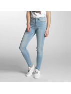 Pieces Skinny jeans PCFive Betty blauw