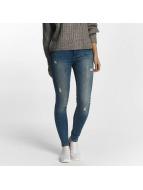 Pieces Skinny Jeans pcFive Delly niebieski