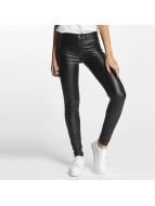 Pieces Skinny Jeans pcSkin Betty Coated schwarz