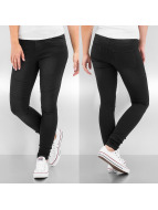 Pieces Skinny jeans Just Jute Washed R.M.W. zwart
