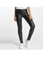 Pieces Skinny jeans pcSkin Betty Coated zwart